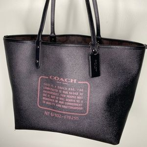 Coach Reversible Tote